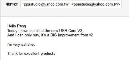 review Paul Pang USB V3 USB kaart
