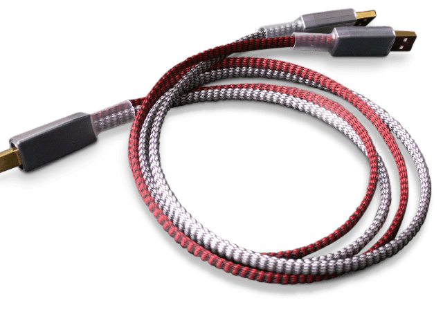 Paul Pang USB-Kabel Red Dual Lead Reference