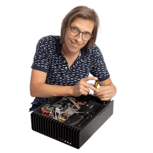 Dries Van Hooydonck van Audio-PC shop - bouwt audiofiele PC